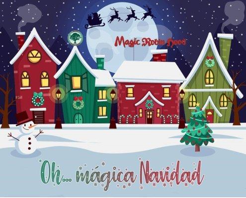 Vive una navidad mágica parque vacacional magic robin hood alfaz del pi