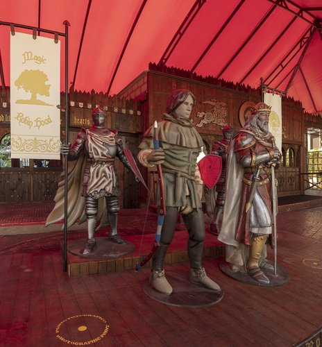 'Sheriff of Nottingham' snack bar en el Club deportivo 'La Marina' Parque Vacacional Magic Robin Hood Alfaz del Pi