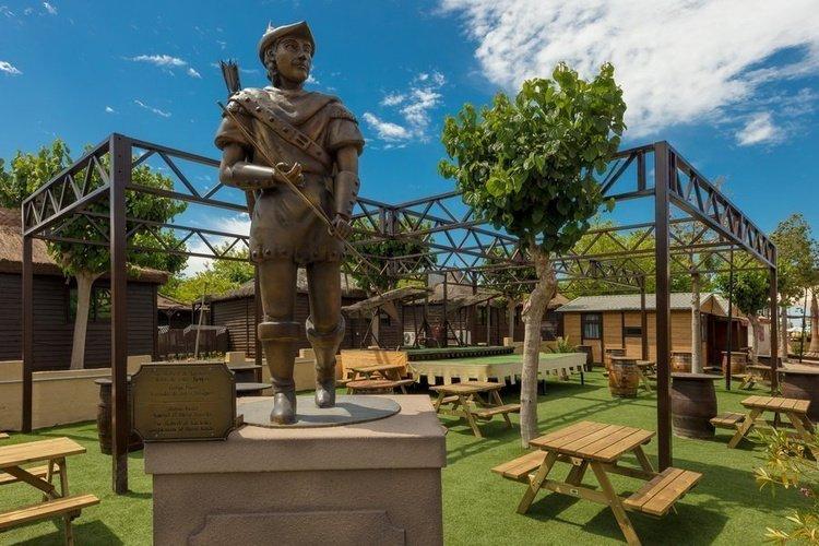 Zonas comunes parque vacacional magic robin hood alfaz del pi