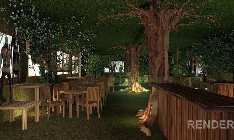 Forest Cafe Parque Vacacional Magic Robin Hood Alfaz del Pi