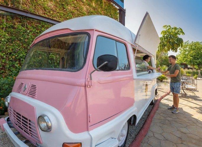 Camion de helados Parque Vacacional Magic Robin Hood Alfaz del Pi