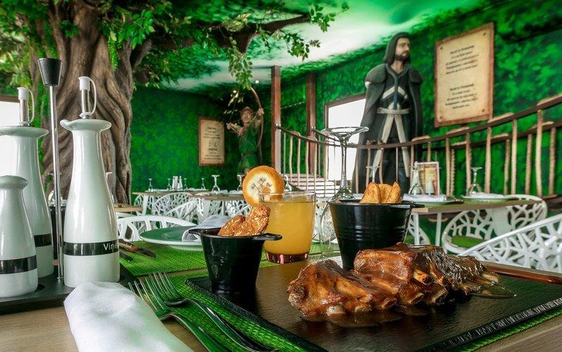 Restaurante parque vacacional magic robin hood alfaz del pi