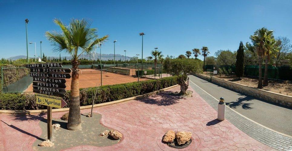 Club deportivo 'la marina' parque vacacional magic robin hood alfaz del pi