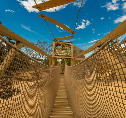 Parque multi-aventura - circuito de aventura parque vacacional magic robin hood alfaz del pi